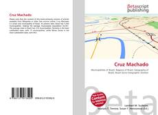 Capa do livro de Cruz Machado