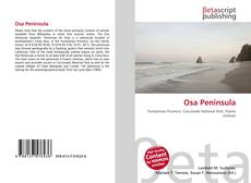 Bookcover of Osa Peninsula