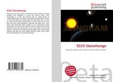 Portada del libro de 9325 Stonehenge
