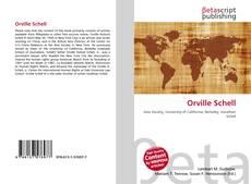 Обложка Orville Schell