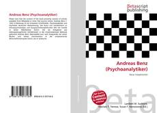 Copertina di Andreas Benz (Psychoanalytiker)