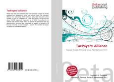 Capa do livro de TaxPayers' Alliance