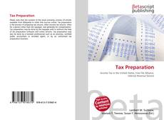 Bookcover of Tax Preparation