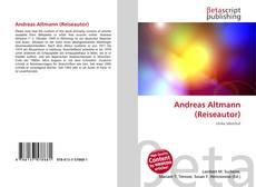Bookcover of Andreas Altmann (Reiseautor)