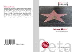 Portada del libro de Andrea Honer