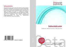 Обложка Sebastokrator