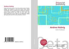 Capa do livro de Andrea Hubrig