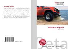 Capa do livro de Andreas Aigner