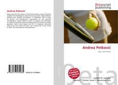 Capa do livro de Andrea Petković