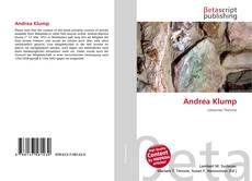 Bookcover of Andrea Klump