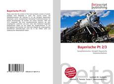 Bookcover of Bayerische Pt 2/3