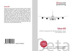 Bookcover of Utva-65