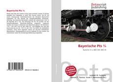 Buchcover von Bayerische Pts ¾