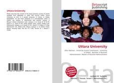 Capa do livro de Uttara University