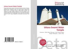 Capa do livro de Uttara Swami Malai Temple