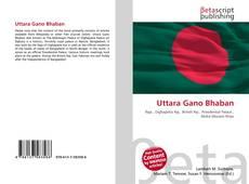 Capa do livro de Uttara Gano Bhaban