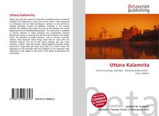 Capa do livro de Uttara Kalamrita
