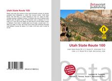 Bookcover of Utah State Route 100