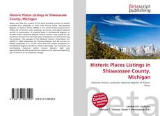 Buchcover von Historic Places Listings in Shiawassee County, Michigan