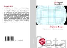 Buchcover von Andreas Benk