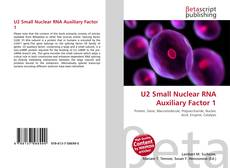 Couverture de U2 Small Nuclear RNA Auxiliary Factor 1