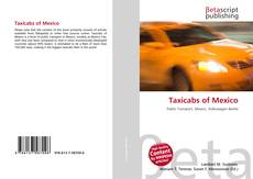 Taxicabs of Mexico kitap kapağı