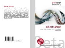 Buchcover von Sebhat Ephrem
