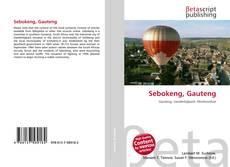 Portada del libro de Sebokeng, Gauteng