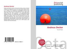 Bookcover of Andreas Decker