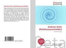 Capa do livro de Andreas Anter (Politikwissenschaftler)