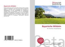Bookcover of Bayerische Wildalm