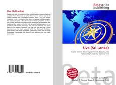 Capa do livro de Uva (Sri Lanka)