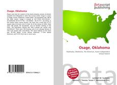 Bookcover of Osage, Oklahoma