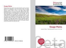 Bookcover of Osage Plains