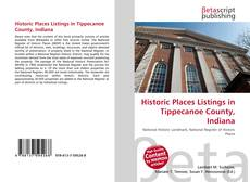 Bookcover of Historic Places Listings in Tippecanoe County, Indiana