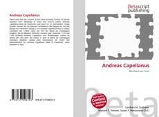 Buchcover von Andreas Capellanus