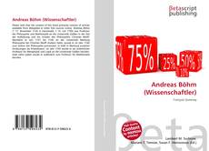 Capa do livro de Andreas Böhm (Wissenschaftler)