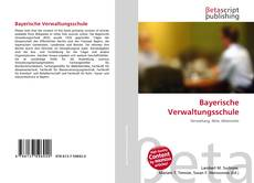 Bayerische Verwaltungsschule的封面