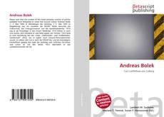 Bookcover of Andreas Bolek