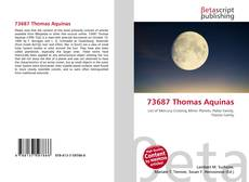 Bookcover of 73687 Thomas Aquinas