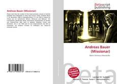 Обложка Andreas Bauer (Missionar)