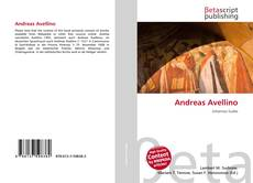 Couverture de Andreas Avellino