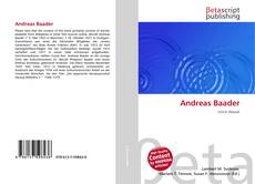 Bookcover of Andreas Baader