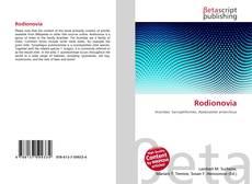 Bookcover of Rodionovia