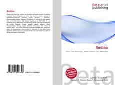 Buchcover von Rodina