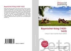 Bookcover of Bayerischer Krieg (1420–1422)