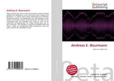 Andreas E. Beurmann kitap kapağı