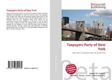 Capa do livro de Taxpayers Party of New York