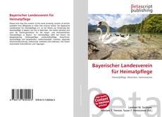 Buchcover von Bayerischer Landesverein für Heimatpflege