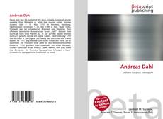 Bookcover of Andreas Dahl